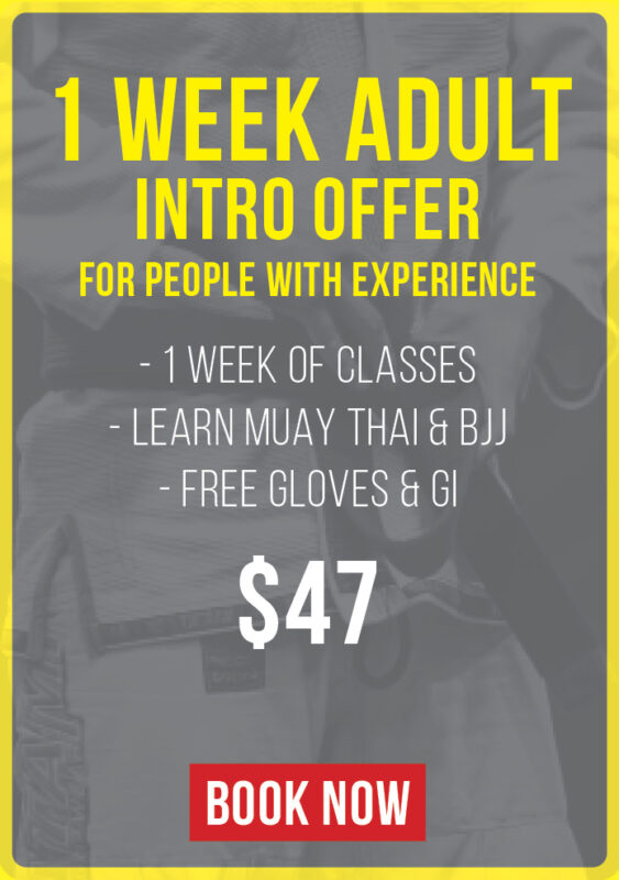 1 week adult intro offer