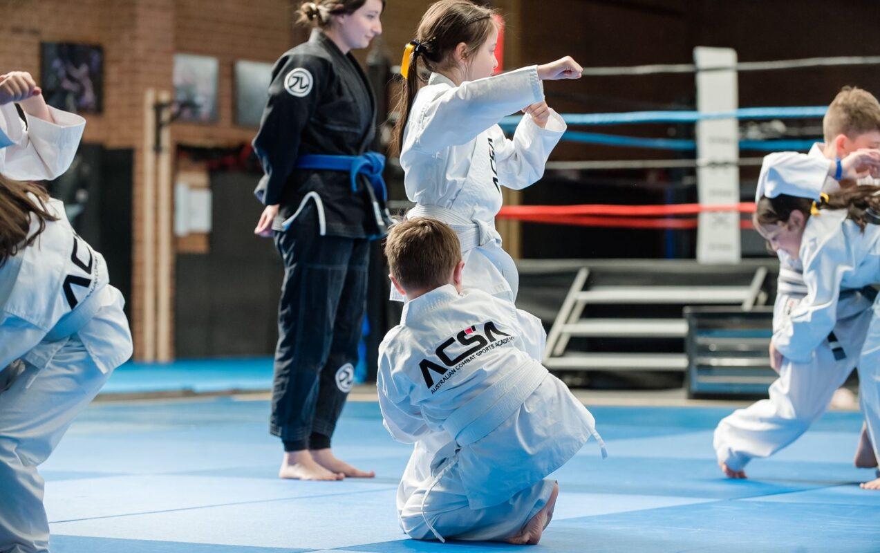 kids doing martial arts at acsa melbourne